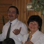 Гарипов Альберт с супругой