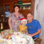 Мироманова В. с семьей