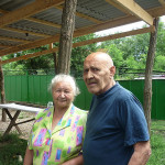 Терехов А.М. и жена Нелля.