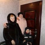 Фомина Тамара -наш стоматолог с дочерью и внуком