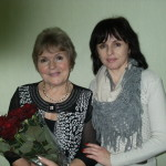 Зина Ковалева с дочерью Таней
